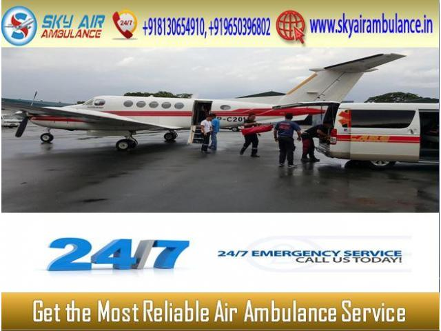 Utilize Sky Air Ambulance from Kolkata for Easy and Quick Patient Transportation