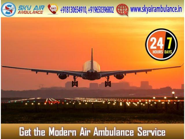 Utilize Air Ambulance from Chennai with Entire Life-Support System